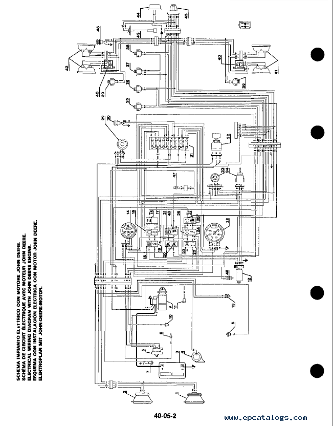 wiring diagram for john deere 4630 john deere mt wiring