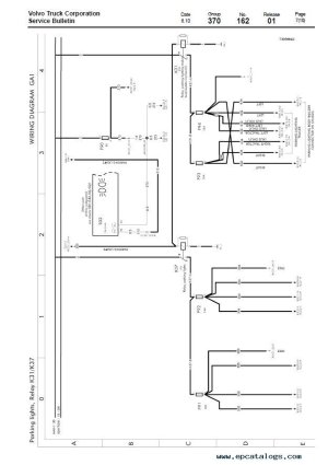 Volvo Trucks FL7, FL10, FL12 Wiring Diagram Manual PDF