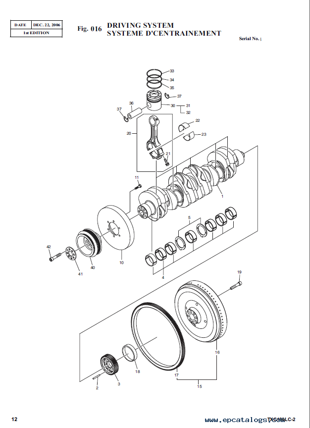Terex TXС 180LC-2 Heavy Excavator Parts Manual PDF Download