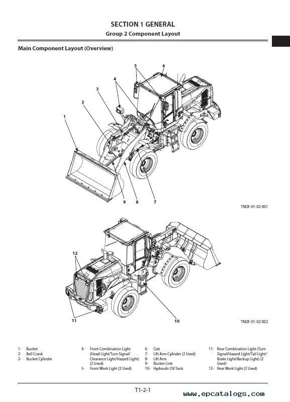 Hitachi Wheel Loader ZW140-5B/140PL-5B OP Technical PDF