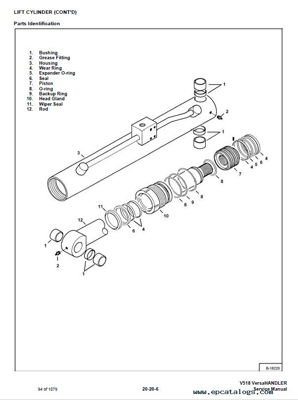 Bobcat V518 VersaHANDLER Service Manual PDF