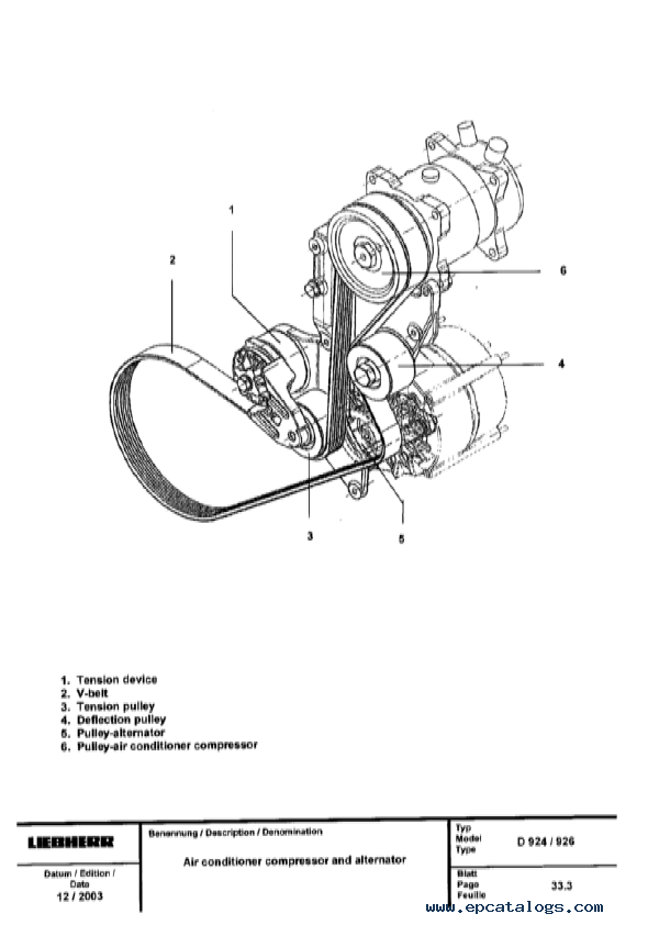 Liebherr D 904-906-914-916-924-926 Engines Service Manual PDF