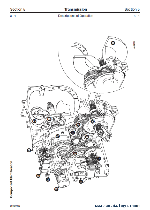 Download JCB SS500 Series Transmission Service Manual PDF