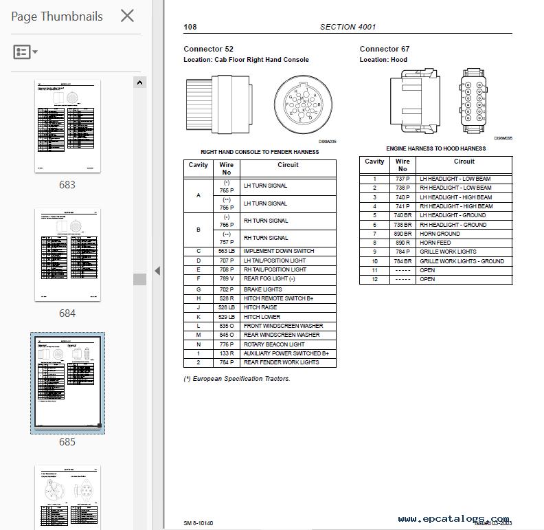 McCormick CX75 CX85 CX95 CX105 Tractors PDF Manual
