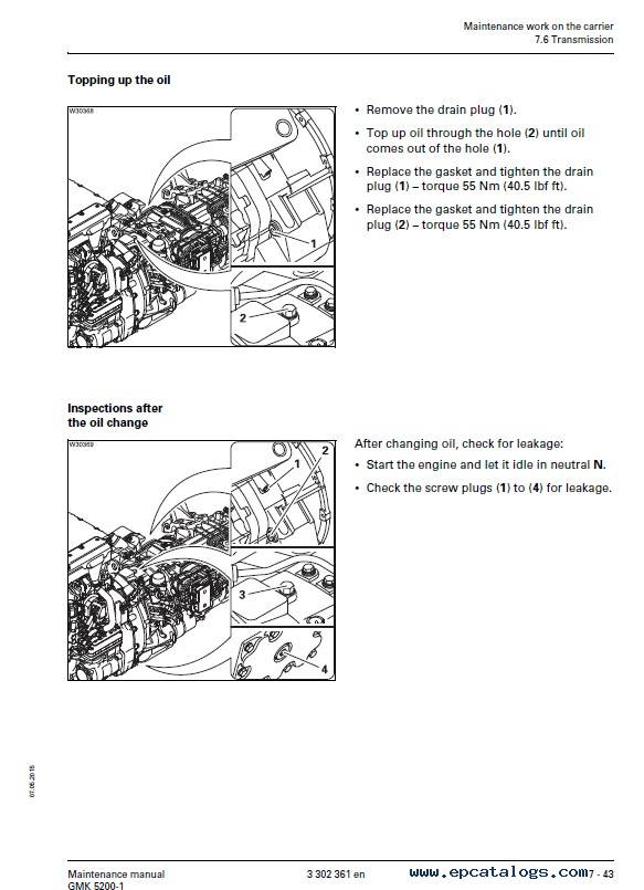 Download Grove Truck Crane GMK 5200-1 Maintenance PDF