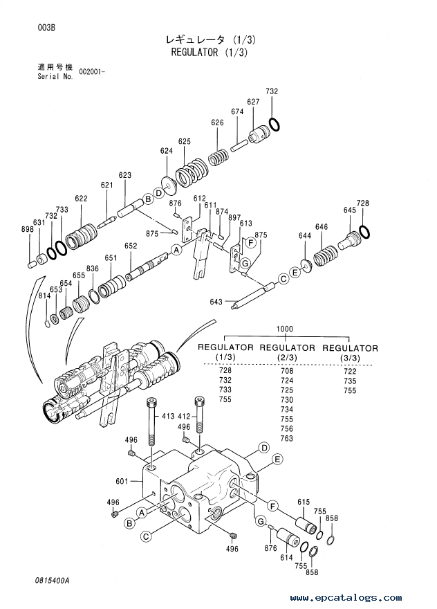 Hitachi EX1200-5C Equipment Parts Catalog PDF Download
