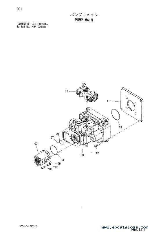 Hitachi Wheel Loader ZW310 Equipment Components PDF