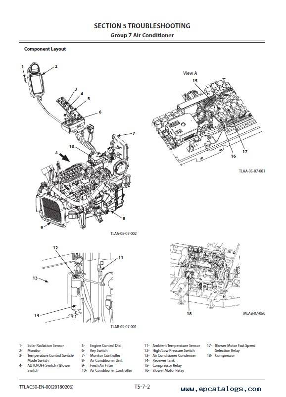 Hitachi Wheeled Excavator ZX145W-6 Troubleshooting PDF