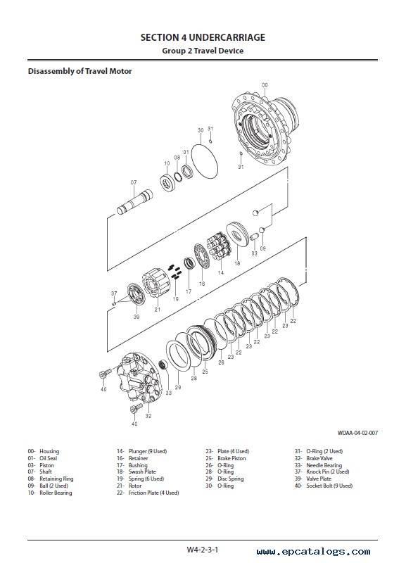 Hitachi Hydraulic Excavator ZX160LC-5G Workshop Manual