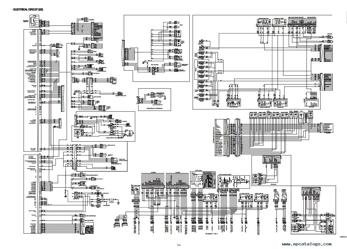 Magnificent Wiring Diagram For Caterpillar Forklift Db 50