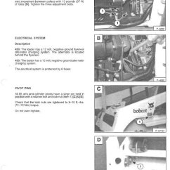 Wiring Diagram For Cars Rheem Air Conditioner Thermostat Bobcat 450, 453 Skid Steer Loader Service Manual Pdf
