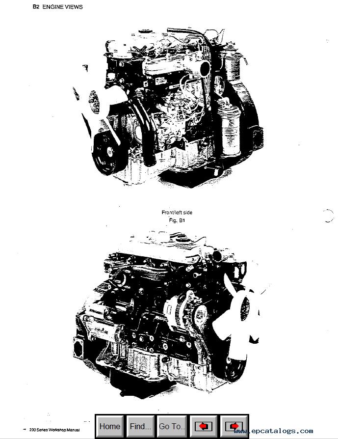 Perkins 200 Series Diesel Engine PDF Workshop Manual