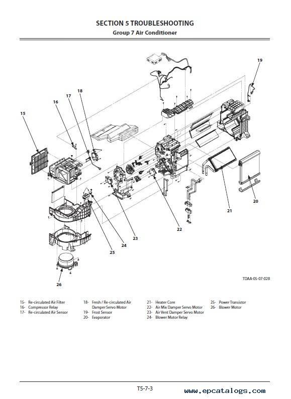 Hitachi Excavator ZX670LC/H/R-5G Troubleshooting PDF