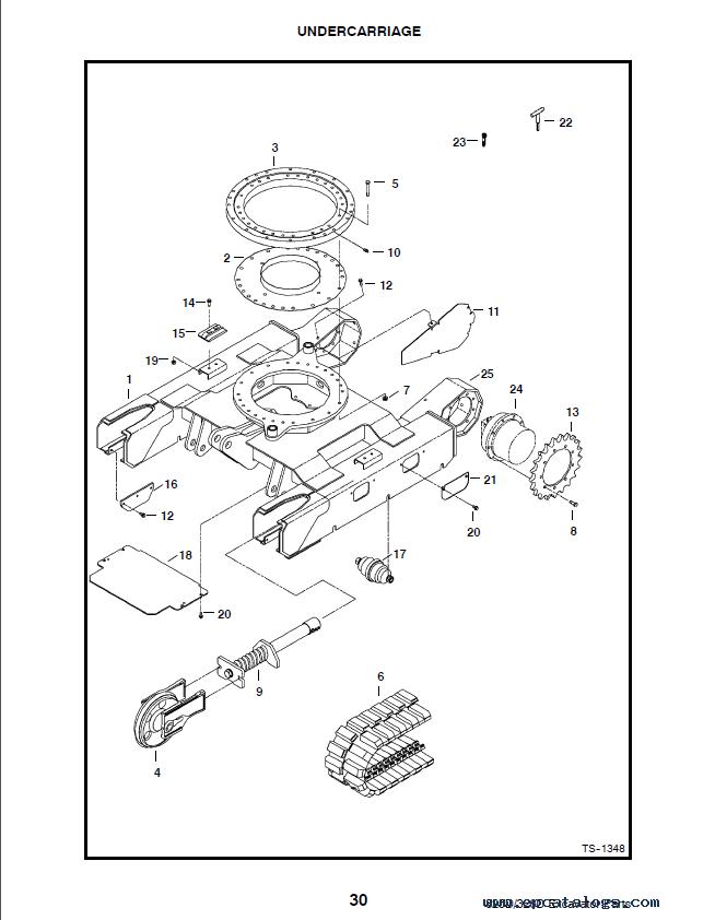 Bobcat Spare Parts Catalog