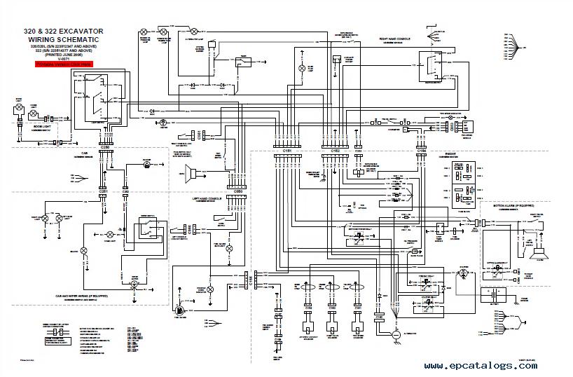 bobcat 322 hydraulic schematic