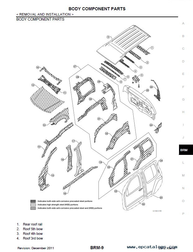 Nissan Xterra 2012 Service Manual PDF