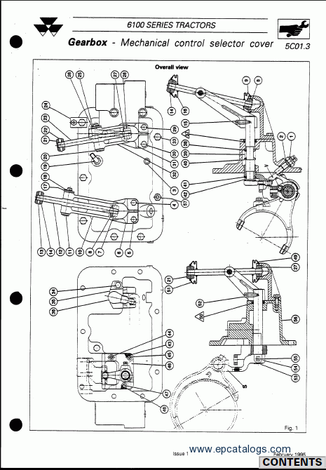 Massey Ferguson tractors 6100 series Repair Manual Download