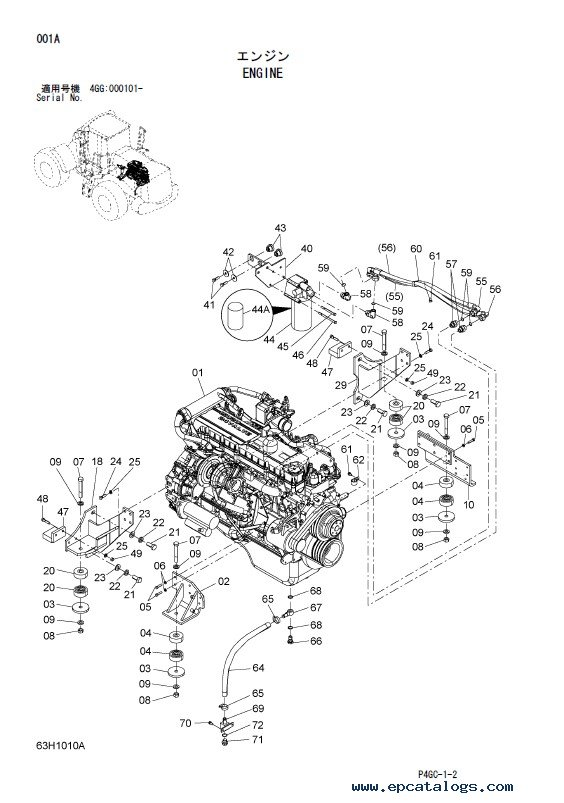 Download Hitachi Wheel Loader ZW250 Parts Catalog PDF