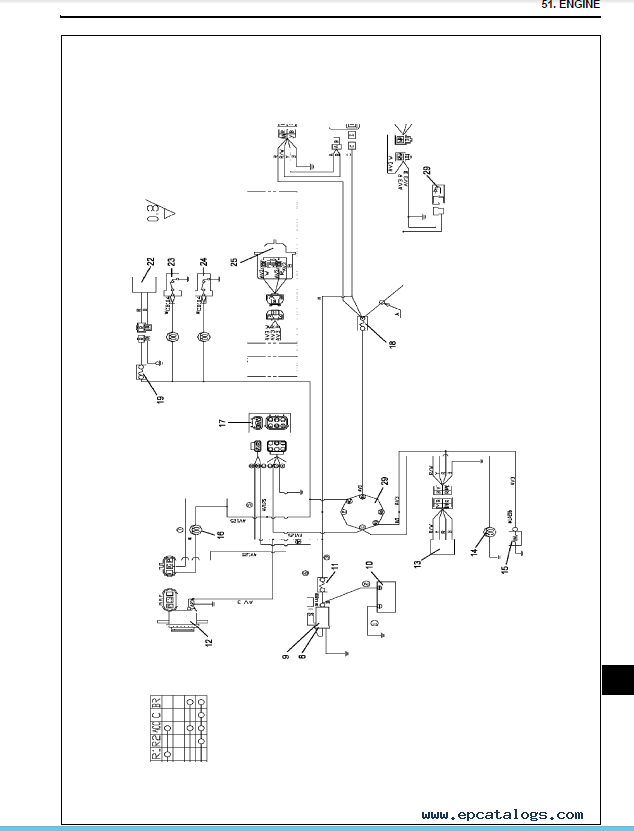 Yanmar Engine 3TNV-4TNV Series (Direct Injection System