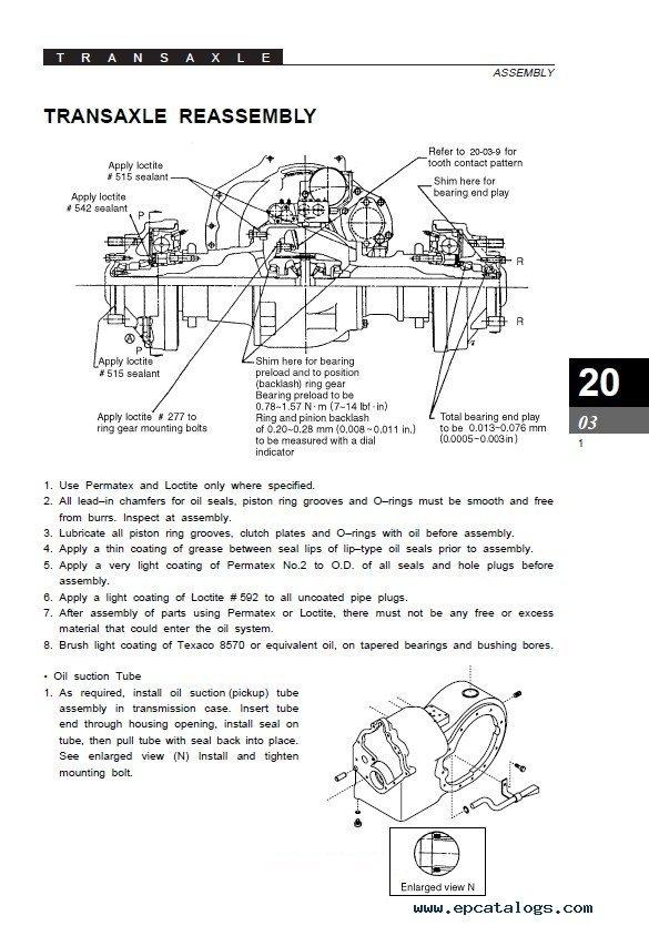 Clark SF20-30D/L/G & CMP20-30D/L/G SM711 PDF Manual