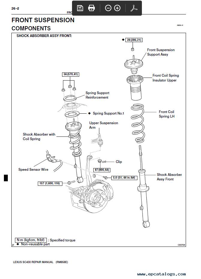 Lexus Sc 430 Wiring Diagram