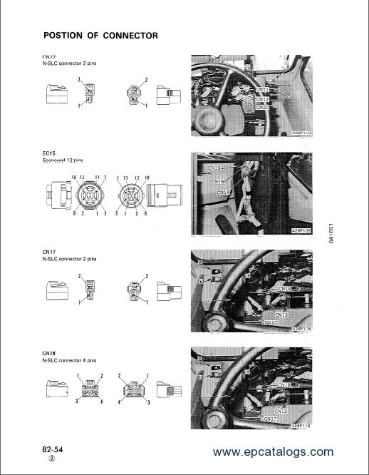 Komatsu Wheel Dozer WD600-1 Shop Manual