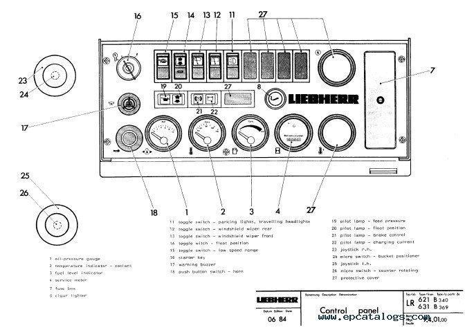 Liebherr LR 611-641 Crawler Loaders Service Manual PDF