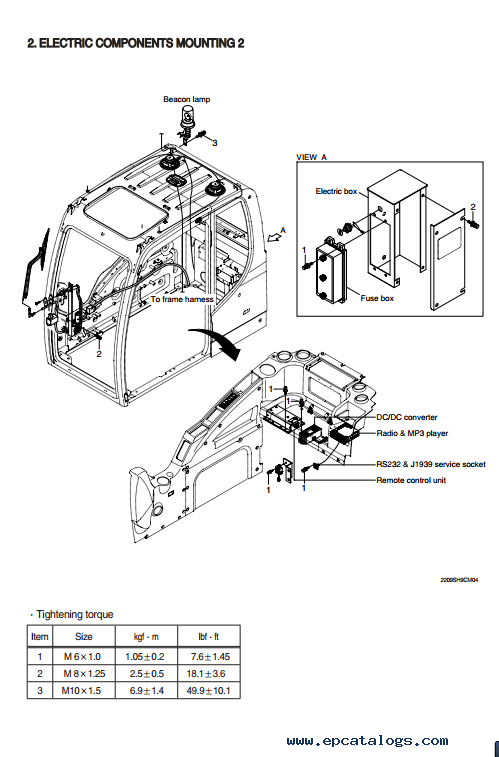 Hyundai R220LC-9SH Crawler Excavator Service Manual Download