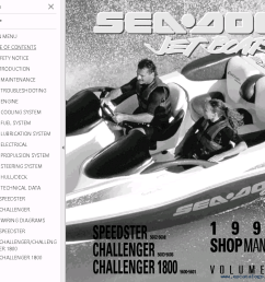 repair manual sea doo jet boat challenger 1800 full repair manual 1997 4 [ 946 x 834 Pixel ]