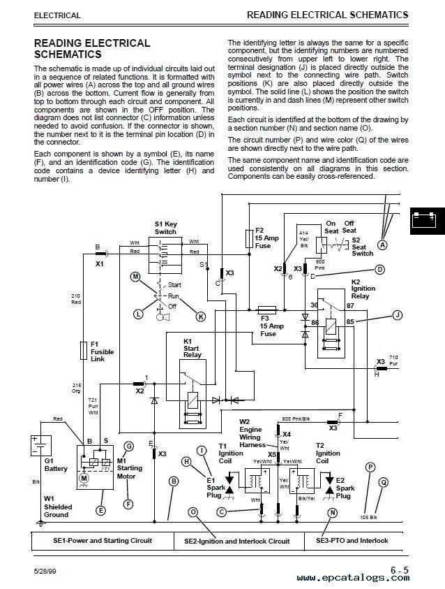 John Deere L130 Safety Switch Wiring Diagrams John Deere 325 335 345 Lawn Garden Tractors Repair Manual
