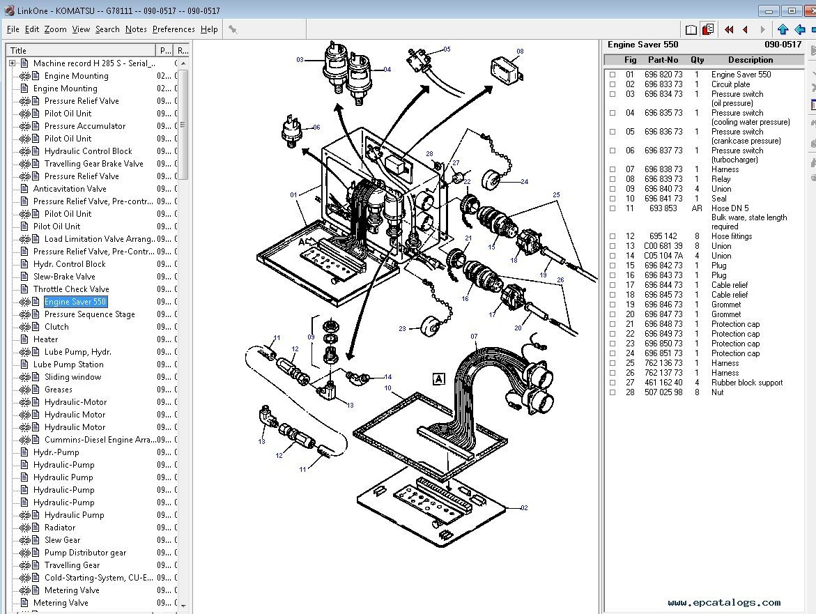 Komatsu Construction Europe Parts Catalog 2017 Download