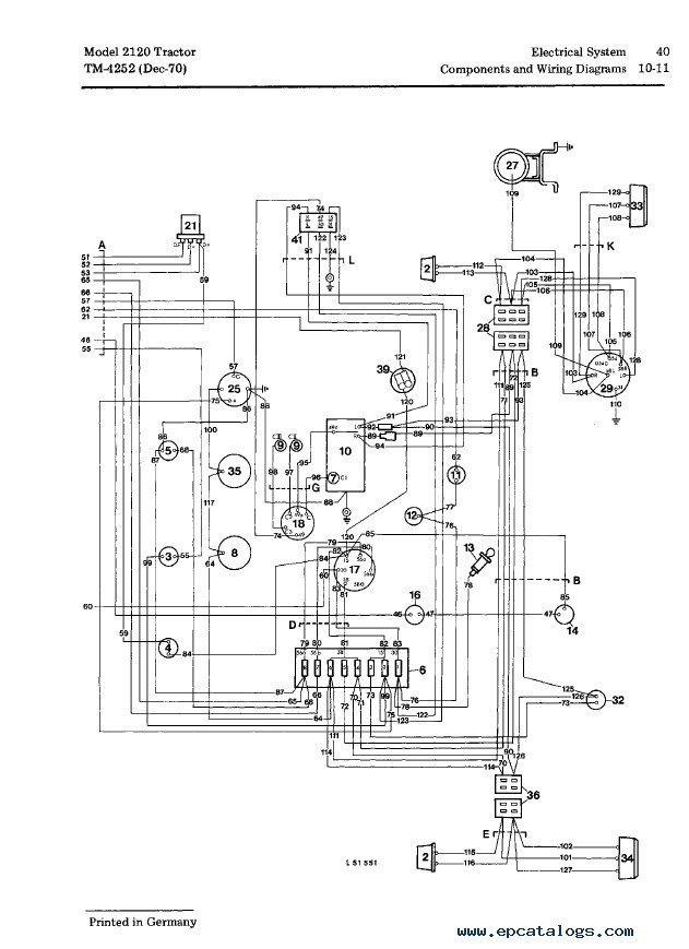 Wiring Diagram John Deere La135 Scheme LT180 John Deere