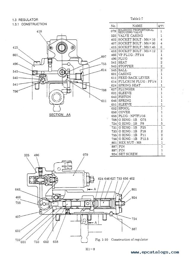 Kobelco Excavator SK200SR/LC + Isuzu Engine A-4BG1/6BG1