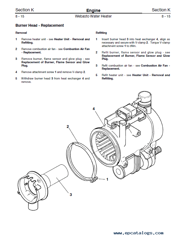 Download JCB Loadall 525-50 RAF Service Manual Suppl PDF