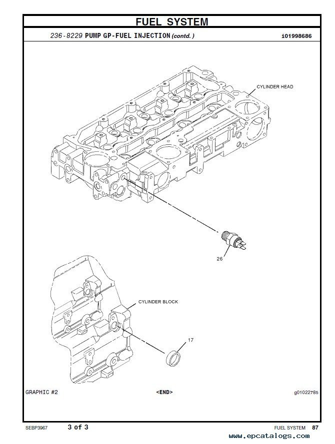 caterpillar 442D Backhoe Loader Parts Catalog PDF