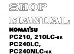 Komatsu CSS Excavators PC95-1/270LL-7, JBP100, JPB960 Download