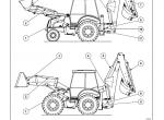 New Holland Loader Backhoe B110/ B115 Repair Manual PDF