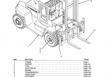 Hyster Challenger H165/190/210/230/250/280/XL Parts Manual PDF