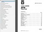 John Deere JD760 Tractor Service Manual SM-2075 PDF