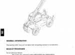 Manitou MT1840 Workshop Service Manual 2007 PDF Download