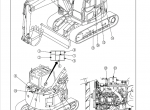 Komatsu Hydraulic Excavator PC138US-8 Set of PDF Manuals