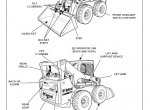 Bobcat S850 Skid-Steer Loader Service Manual PDF