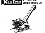 New Idea Spare Parts Books and Repair Manuals 2018