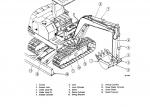Kobelco SK024, SK027, SK032 Hydraulic Excavator Shop