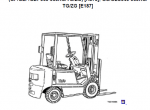 YALE Truck A875 (GLP20-30RF) Service & Parts Information