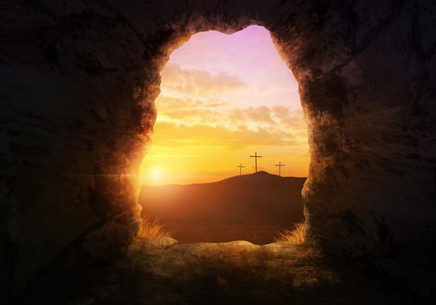 Cristianismo: uma religião de ressurreição de Páscoa Cristã