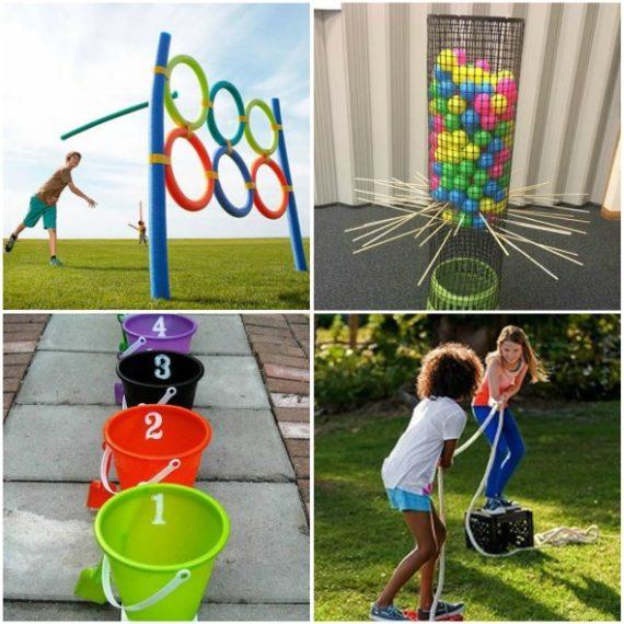 20 Brincadeiras para Fazer com Crianças nas Férias Escolares