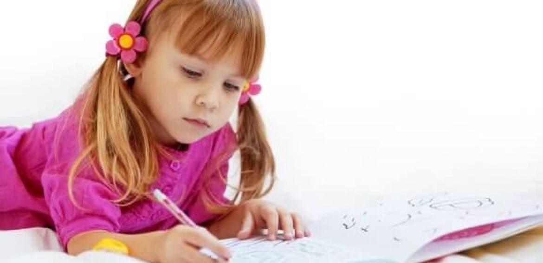 Os benefícios de colorir para as crianças