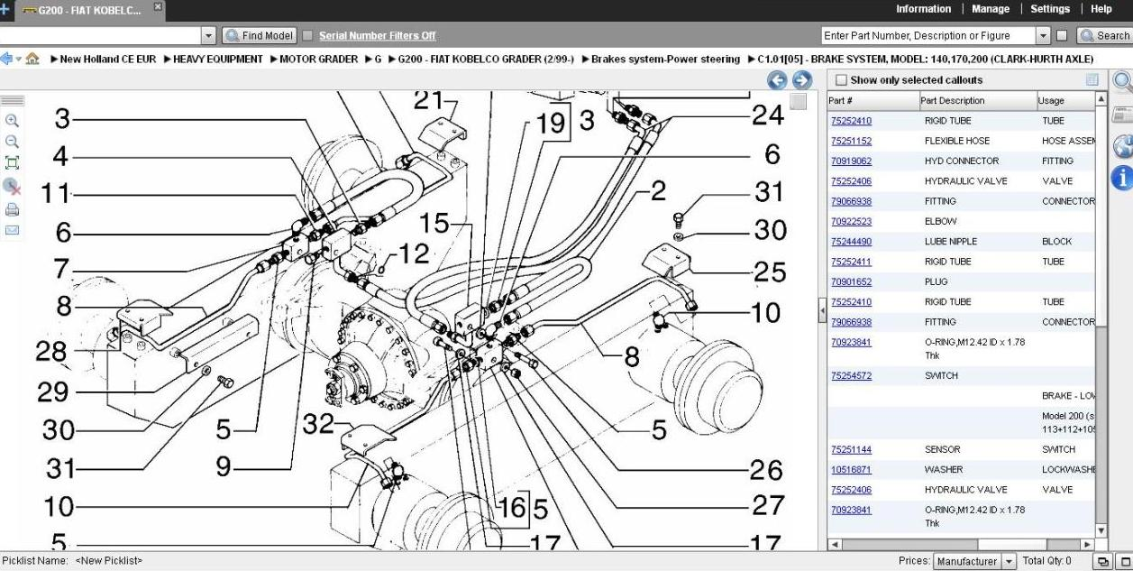 New Holland Ls180 Skid Steer Wiring Diagram Diagrams