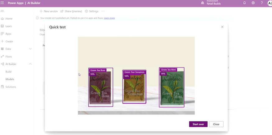 PowerApps Test